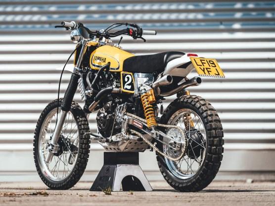 Sowohl bei ihrer Premiere in Monza als auch beim »Bike Shed« in London überzeugte die Lamb-XSR mit den vielen Details