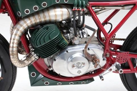 Auch der Motor ist Eigenbau - Eine kleine Sensation