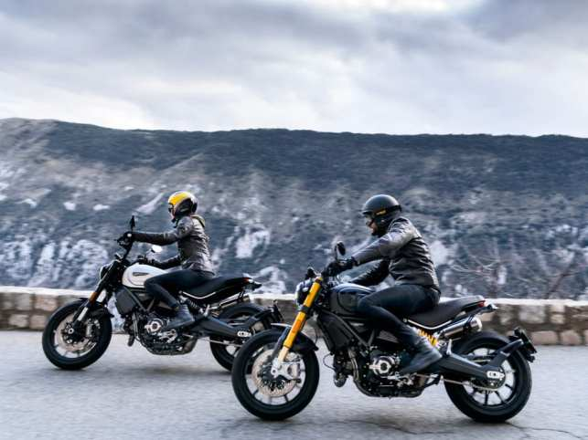 Pünktlich zur Saison 2020 bringt Ducati zwei neue 1100er Scrambler-Versionen