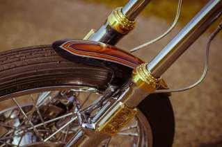Die Gabel stammt aus Harleys legendärer Ironhead