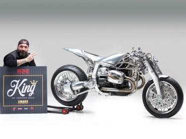 Der Künstler und sein Werk: Andrea Radaelli verwandelt Motorräder in rollende Kunstwerke