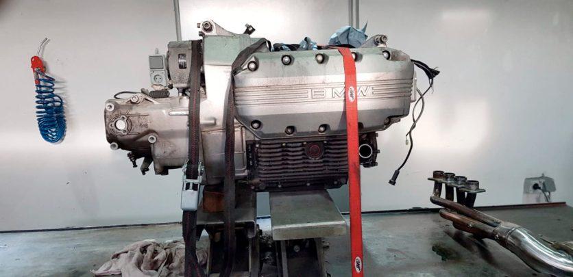 Der Motor vorher
