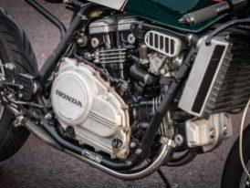 V4-Motoren sind für Honda nicht ungewöhnlich und mit der VF-Reihe setzte der japanische Hersteller seine erfolgreiche Tradition fort