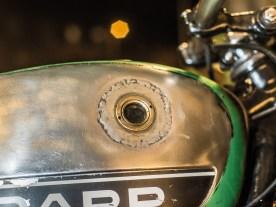 Herrlich: Zündapp-Tank mit Schaugläsern