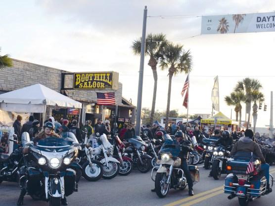 Kurz vorm Shutdown in den Staaten fand die 79. Bike Week in Daytona, Florida, statt