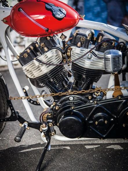 Paughco-Starrahmen und Shovelhead-Motor – zwei wie Pech und Schwefel