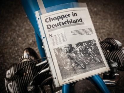 In unserer Erstausgabe war sie auf dem Introbild zur Story »Chopper in Deutschland« zu sehen. Seither sind Mimi und die Q zusammen jung geblieben und erzählen eine unendliche Geschichte
