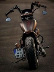 Der Lenker stammt von Kodlin Motorcycles