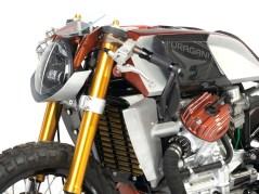 Alle Verkleidungsteile an der Honda baute Raffaele Gallo selbst. Ach ja, sowie die ganzen Lackierarbeiten