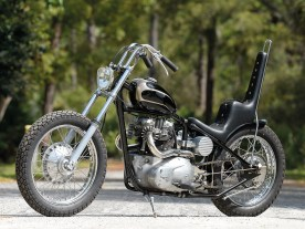 650er Triumph – Glasklarer Chopper