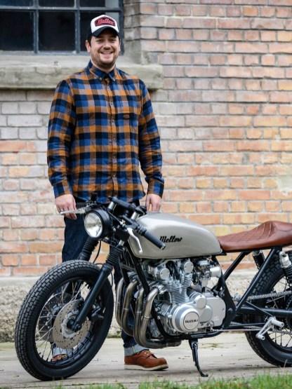 Florian Hubert, der Kopf hinter Mellow Motorcycles