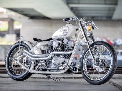 Am Anfang gab es Bedenken, ob das Bike mit einer weißen Lackierung überhaupt seine Wirkung entfalten würde