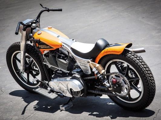 »Harley Orlando Orange«, eine Sonderfarbe aus dem Jahre 1934