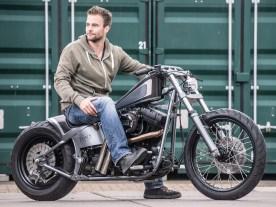 »Motorradfahren hab ich auf der Liberator meines Vaters gelernt«