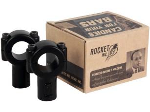 Kein Protz, kein Schnickschnack: Dock66 bietet unter dem Label »Rocket Inc« astreine Oldschool-Parts an. In die schlichten Riser hat sich unsere Frau Reuter schon mal direkt verliebt