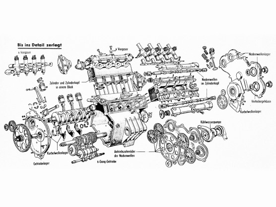 """Bericht im deutschen Technikmagazin """"hobby"""" von 1957"""