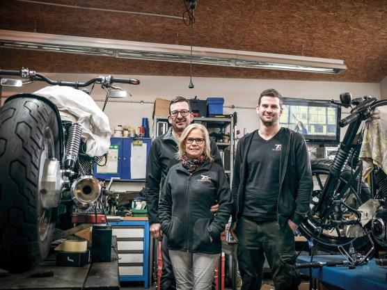 Das TXT-Team aus Bellheim in der Pfalz: Harry Thibaut, seine Frau Christine und Sohn Timo