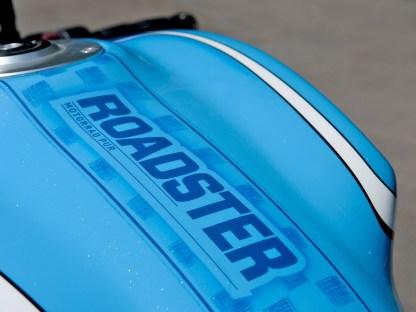Die Monster war ein Projektbike des ROADSTER-Magazins