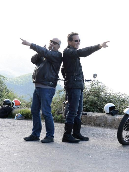 Hugh (rechts) hatte die Idee und die Maschinen, Marcus kümmert sich um die Technik des klassischen Entschleunigungsfuhrparks