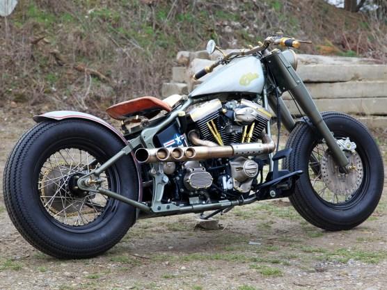 """Ellie, das P-51 Mustang Projekt: Der Kunden hatte eine Idee, die Biker Schmiede Berlin setzte sie in die Tat um. Ein klares """"like"""""""