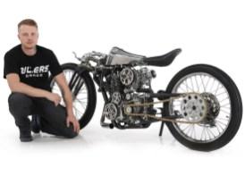 Viele Premieren: Mit Dima Golubchikov gewinnt erstmals ein russischer Customizer die WM. Auch eine Yamaha als Weltmeisterbike gab es vorher noch nie