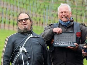 Udo Sacher (links) ist der Mann hinter U.S. Custombikes in Großheubach