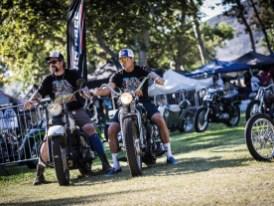 Auf einem Parkplatz startete die Show von Mike und Grant im Jahr 2008. Heute ist sie die wohl bekannteste Vintage-Bikeshow der Welt