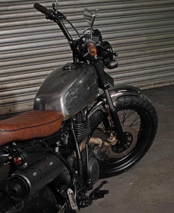 yamaha,bobber,streetstyle,bratstyle,singapore,custom motorcycle,tw200