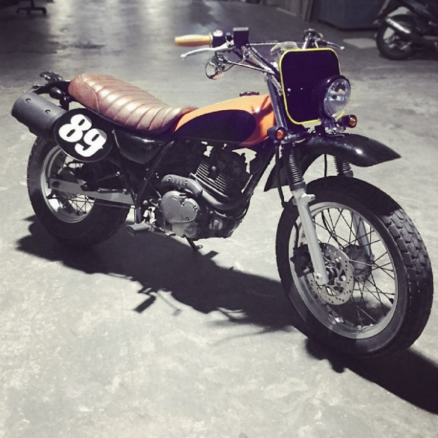 vanvan125,suzuki,custom,singapore,custom, motorcycle, tracker