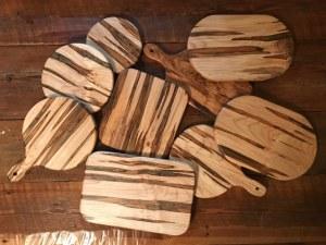 cutting boards Evan Wittels wood Apex Raleigh