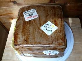 Canada Post/Parcel Retirement Cake