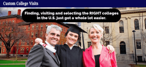 Custom College Visits Home Page