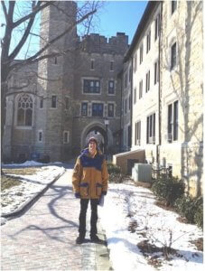 Sean shares with us an excerpt of his weekend at Villanova