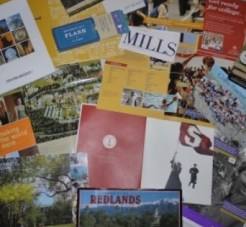 Photo of College Catalogs