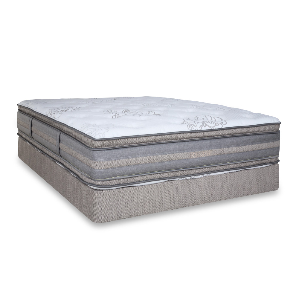 renew 3 1 double sided medium firm innerspring natural mattress with pillow top
