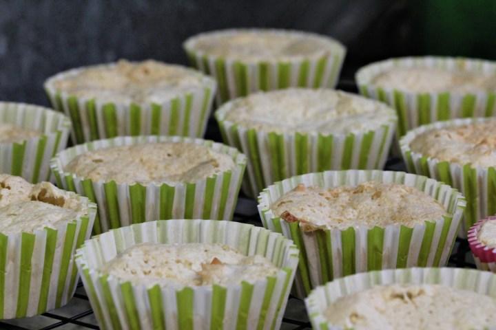 this week's bake – macaroon angel cakes