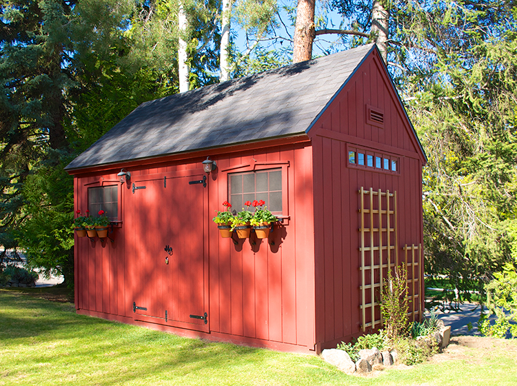 Custom Crafted Cottage And Shed