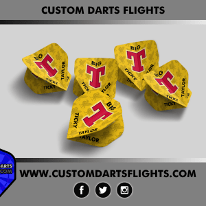 CUSTOM DARTS FLIGHTS Big T