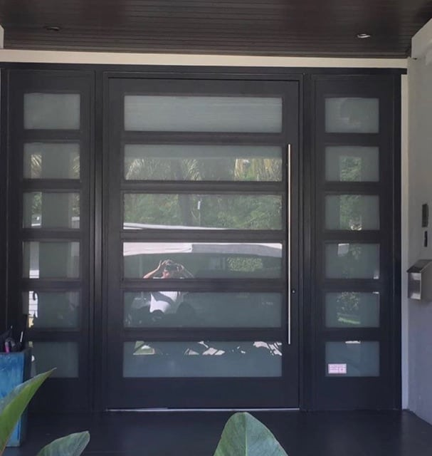 Aluminum Pivot Doors Custom Door Shop