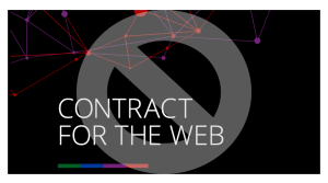 Contract for the Web—not signing