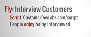 Fly - Interview Customers