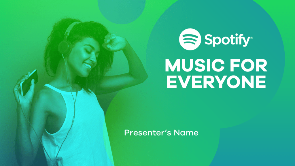 spotify's value proposition