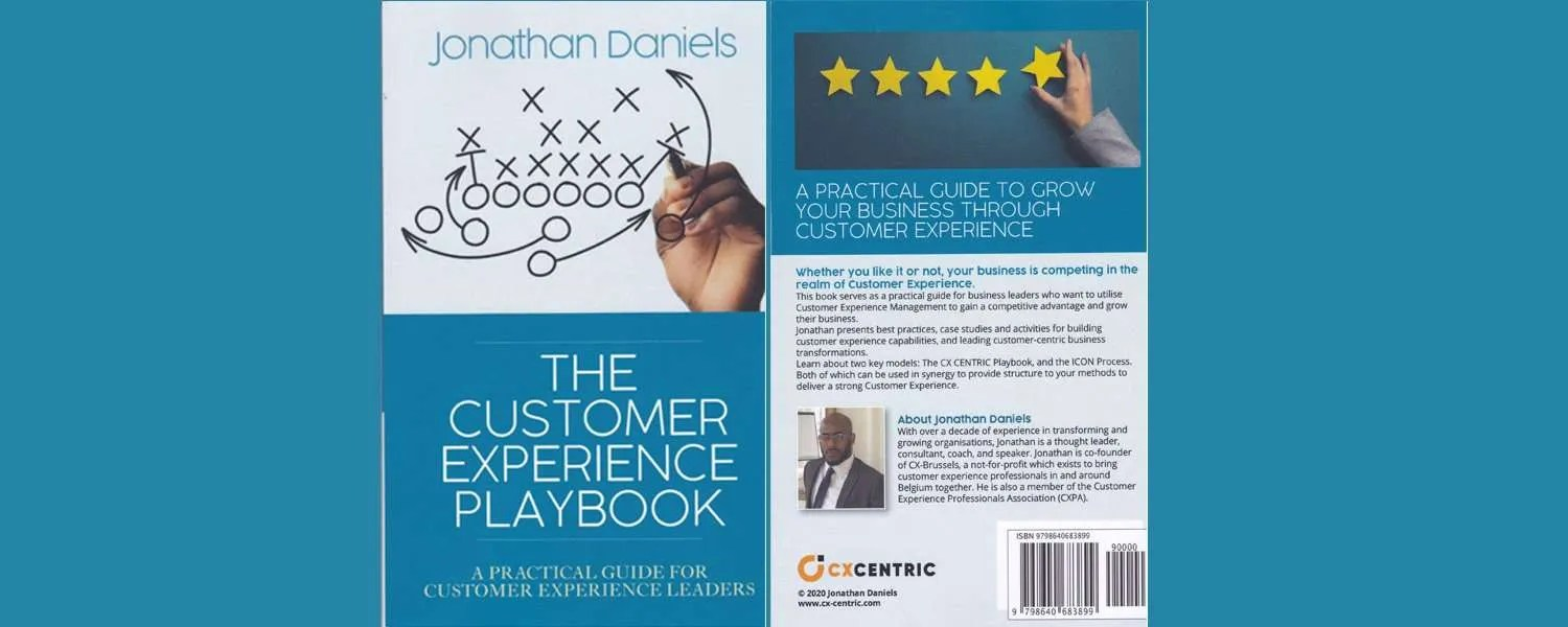 The Customer Experience Playbook Covers