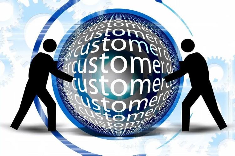center, customer, customers