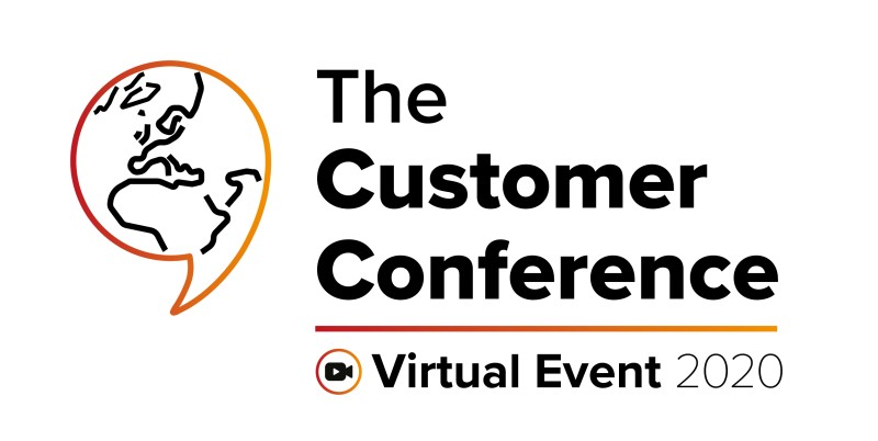 The Customer Conference 2020, the first virtual edition!
