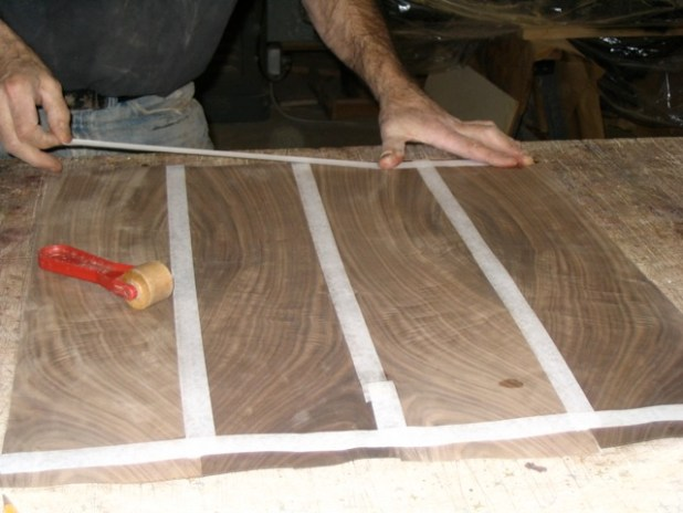 How To Reveneer A Damaged Table