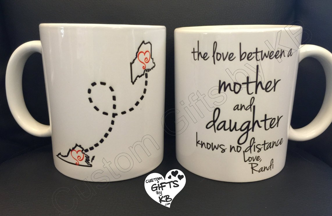 Father And Daughter Mug Custom Gifts By KB