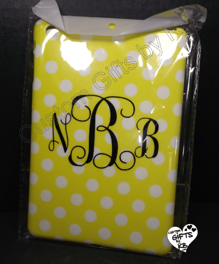 monogram ipad mini case
