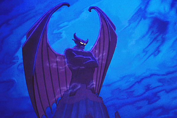 Chernabog from Night on Bald Mountain in Disney's Fantasia – Best Animated Horror Cartoon Characters