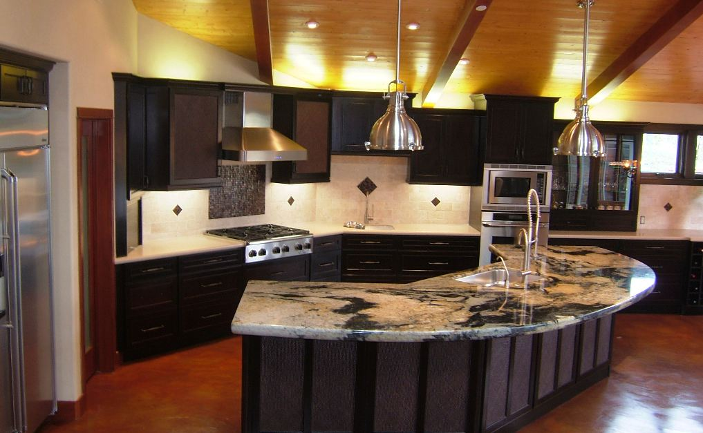 Custom Granite Works | Gallery on Modern:egvna1Wjfco= Kitchen Counter Decor  id=91373